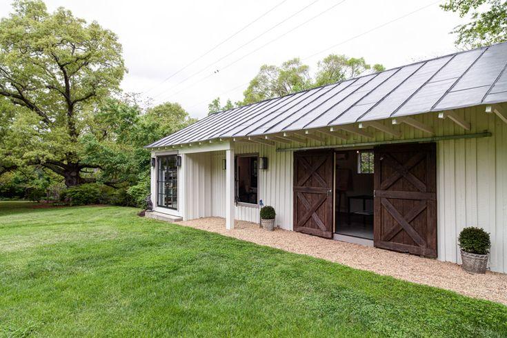 Backyard studio bonafide farm garden ideas pinterest for Backyard studio plans
