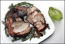 Sangria-Cured Ham