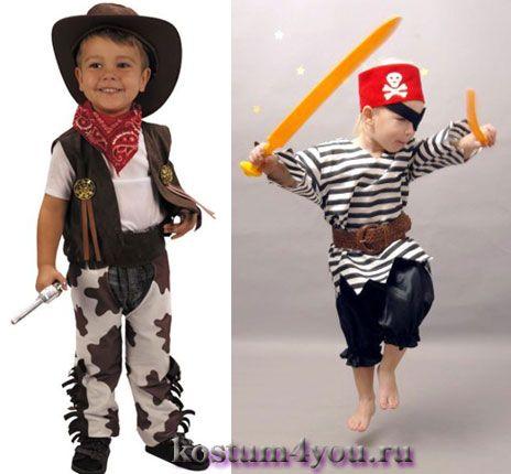 Детские костюмы на новый год сделай сам