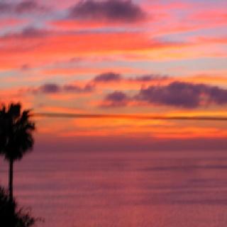 pacific sunset ::: laguna beach
