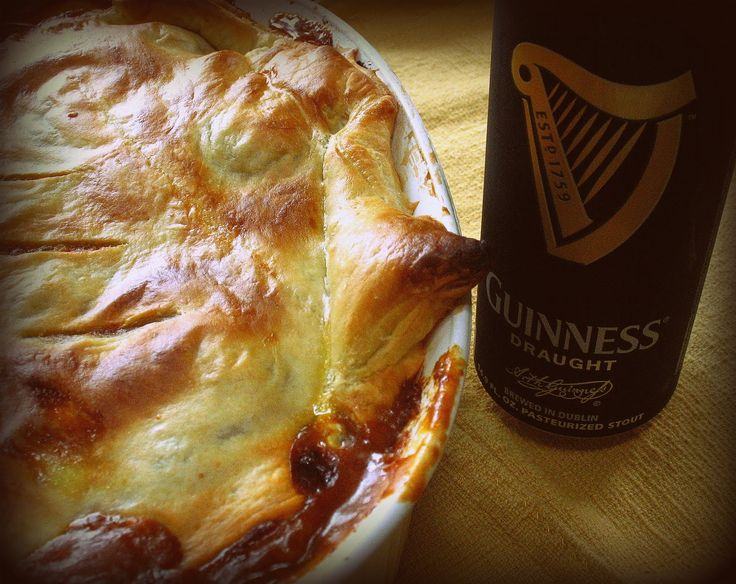 Steak and Guinness Pie | Savory Pies & More | Pinterest