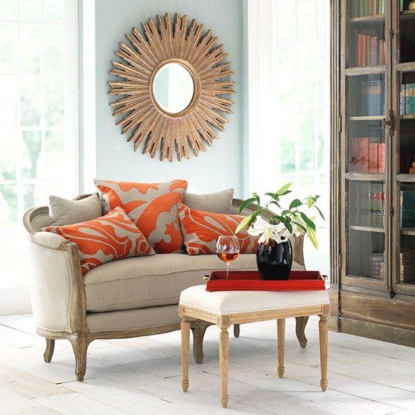 Linen European Furniture- Natural Linen | Sofas & Loveseats