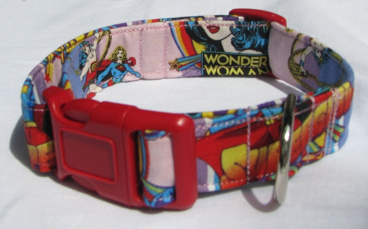 Wonder Woman Comic Collar