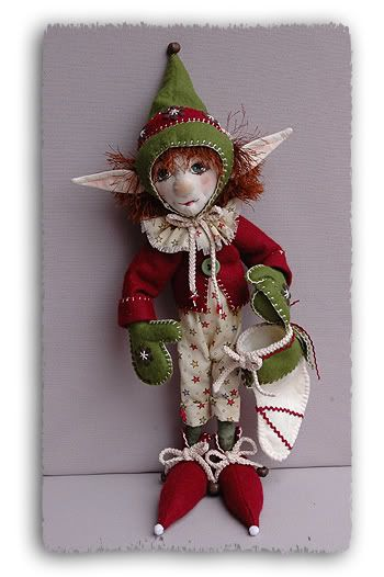 Santa's elf, he works with the raindeer! | Fantasy Art Dolls I've mad ...