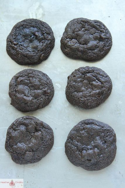 Chocolate Coffee Ice Cream Sandwiches by Heather Christo, via Flickr