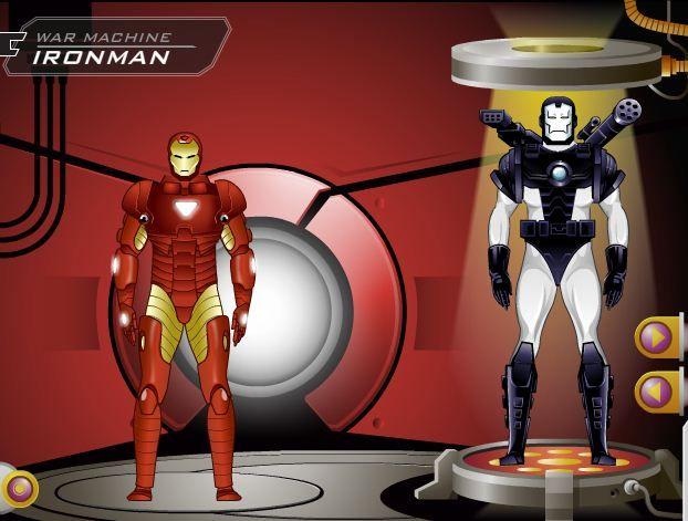 iron man 3 games dress up