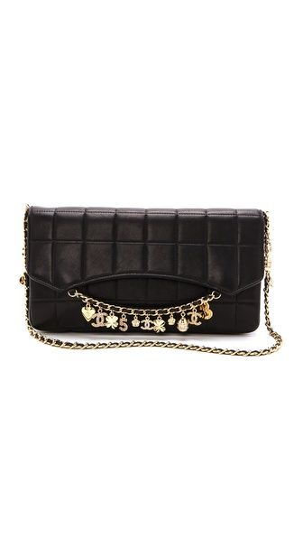 Shop now: Vintage Chanel Charms Bag