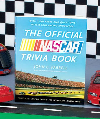 The Official NASCAR® Trivia Book | Birthday Wish List | Pinterest: pinterest.com/pin/43136108904228243