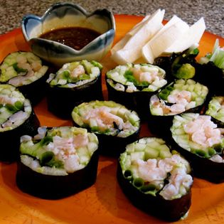 Riceless, Soy-free Sushi – The Foodee Project (The Clothes Make the ...
