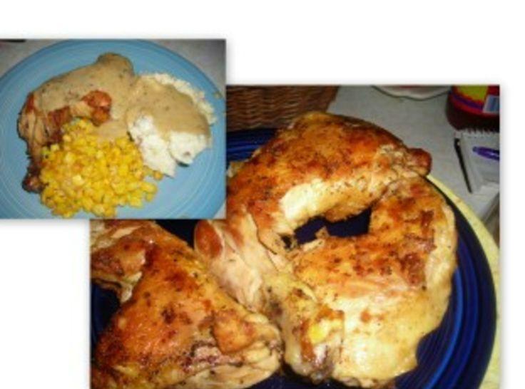 Grandma's Unbreaded Fried Chicken