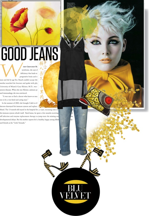 Ripped jeans: how to look