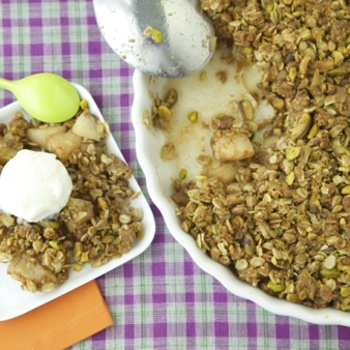 pear crisp with c and ied ginger pear pistachio and parsnip soup ...