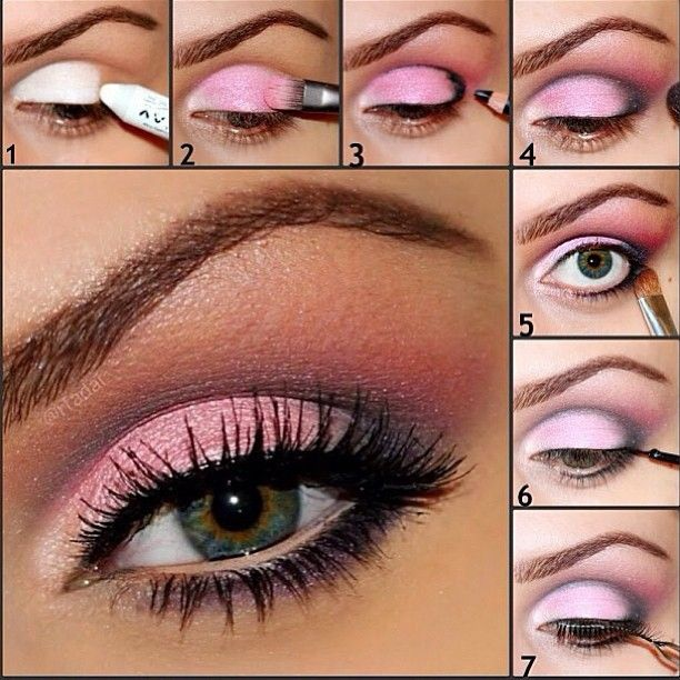 Great work using pink...