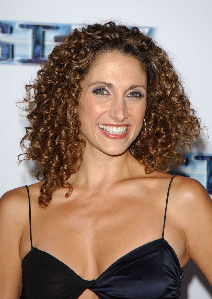 beautiful woman with AWESOME hairOhio love. Melina Kanakaredes