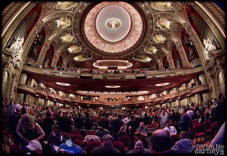Inside The Wang Theatre Reasons To Love Boston Pinterest