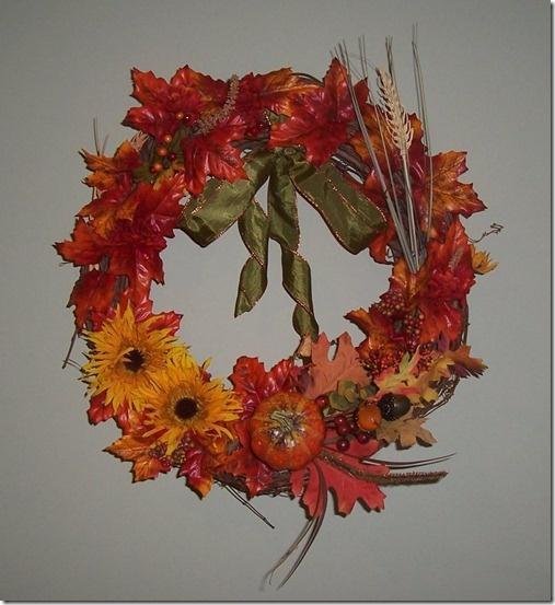Fall Front Door Wreath Diy Wreaths Pinterest
