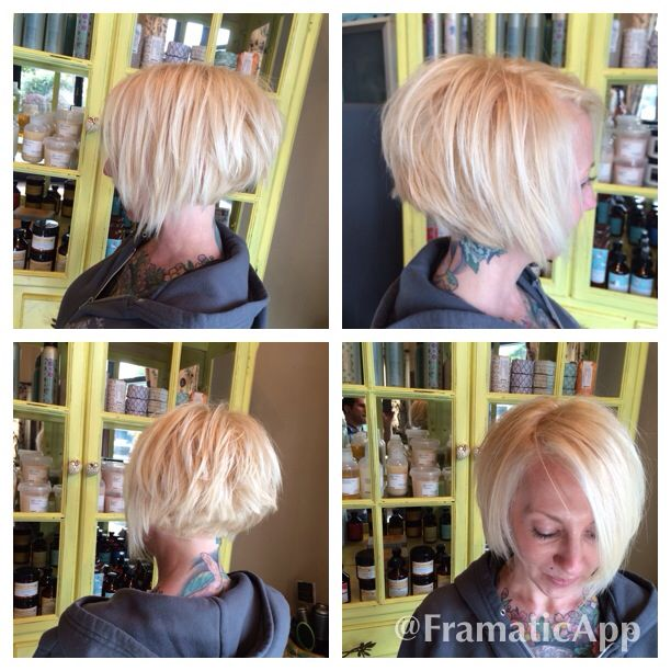 how to cut the bob with disconnection at top