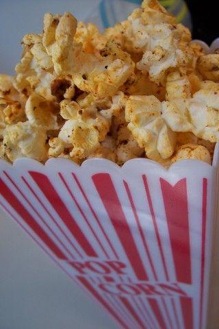 Cajun Spiced Popcorn from CDKitchen.com
