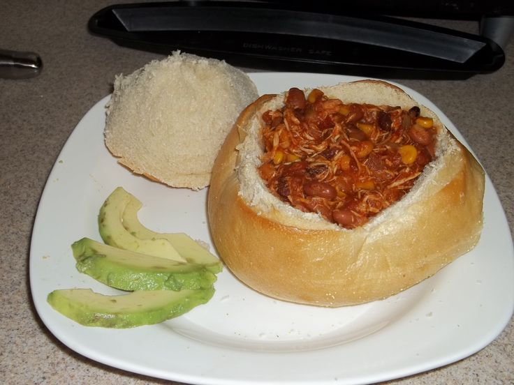 Slow Cooker Chicken Taco Chili | Recipes | Pinterest