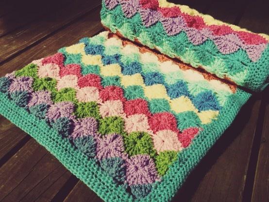 Crochet Stitches Catherine Wheel : Crochet Catherine wheel baby blanket Crochet Pinterest