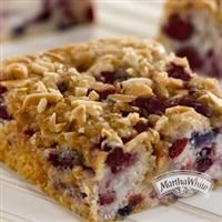 ... of the season with #Cranberry #Almond Buckle from Martha White