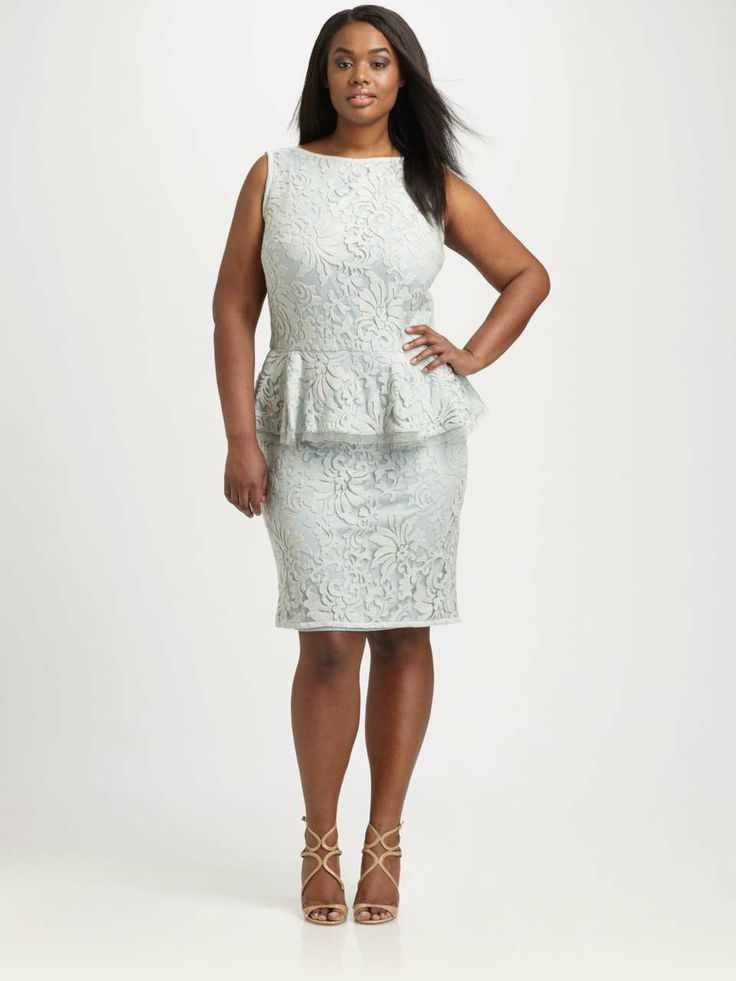 2 piece plus size formal clothes