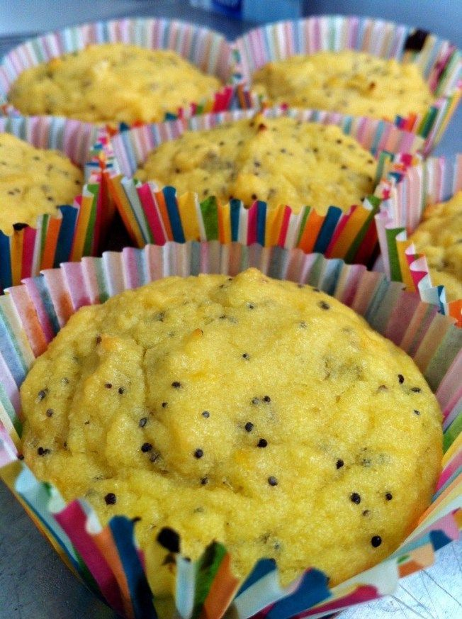 Gluten-Free Lemon Poppy Seed Muffins | Nutritious is Delicious | Pint ...
