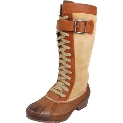 Sorel Women`s Sorelia Earhart Shearling NL1768 Boot,Oyster Gray/Cappuccino,7 M US $209.99