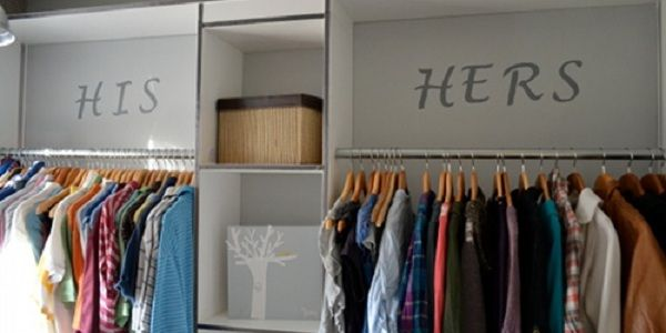 Master closet my dream home pinterest for His and hers closet