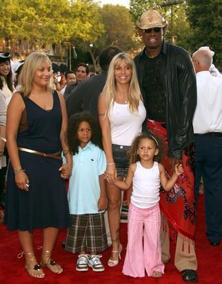 Dennis Rodman and family | Dennis Rodman-UNIQUE | Pinterest