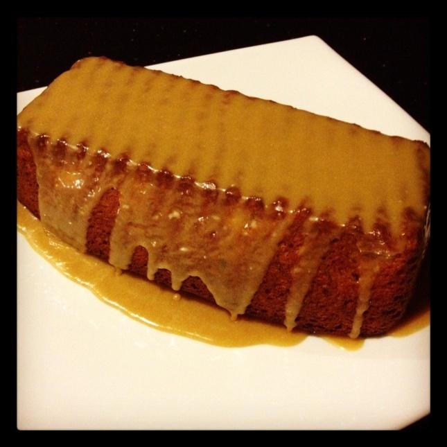 Caramel Banana Cake | food | Pinterest