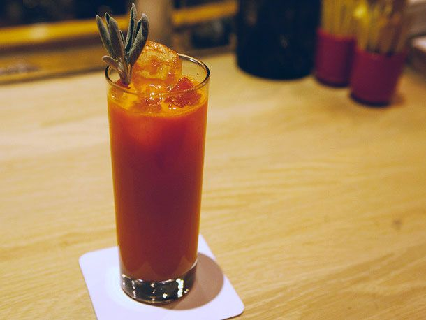 "Velvet Sunrise... a ""virgin cocktail."" Puh-lease... this is just ..."