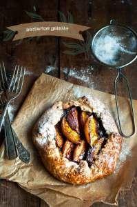 nectarine plum galette | FOOD | Pinterest