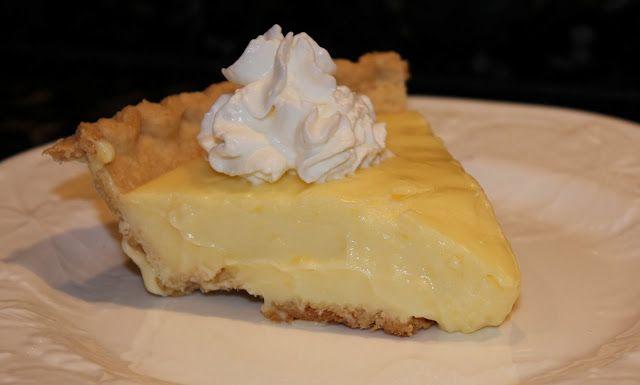 Lemon Ice Box Pie | Food, Glorious Food.... | Pinterest