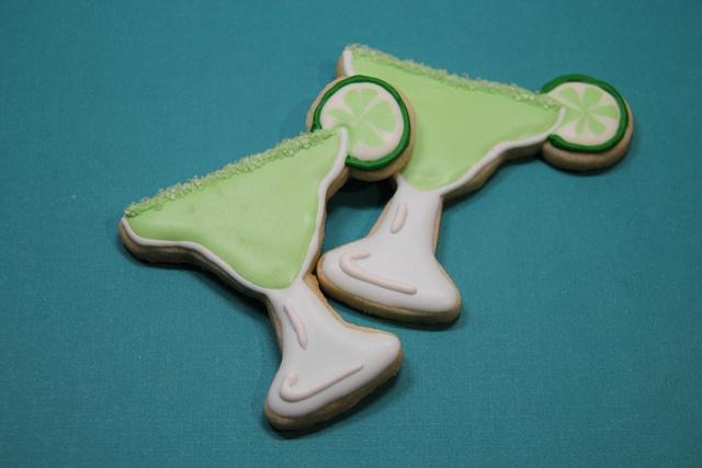 Margarita Cookies | Decorated Sugar Cookies | Pinterest