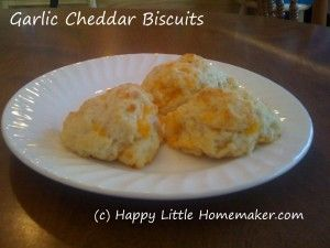 Easy Garlic Cheddar Biscuits   Breads and Muffins   Pinterest
