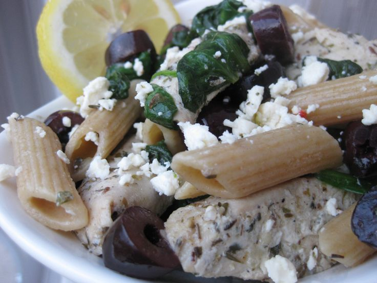 More like this: greek pasta salads , greek pasta and greek chicken .