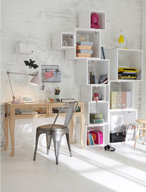 Boxed shelves