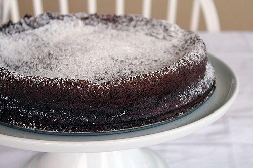 Flourless Chocolate Torte | Baking | Pinterest