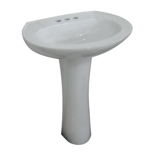 aqua source powder room pedestal sink $57.98