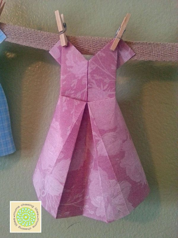 Origami Wedding Dress Tutorial Origami Dress How To Make Dresses