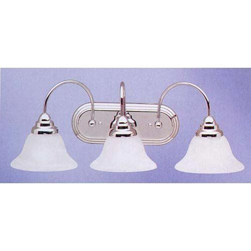 Kichler Lighting 5993CH 3 Light Telford Bathroom Light, Chrome by ...