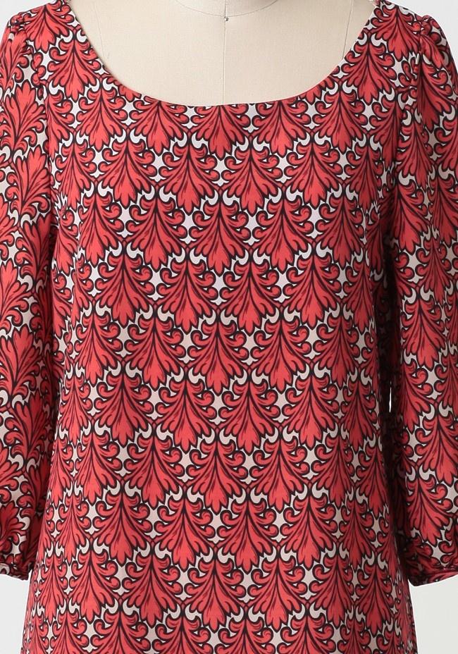 Modern coral shift dress dream closet pinterest