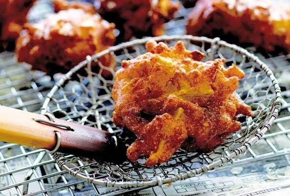 Sunflower Squash Fritters recipe | Squash Recipes | Pinterest