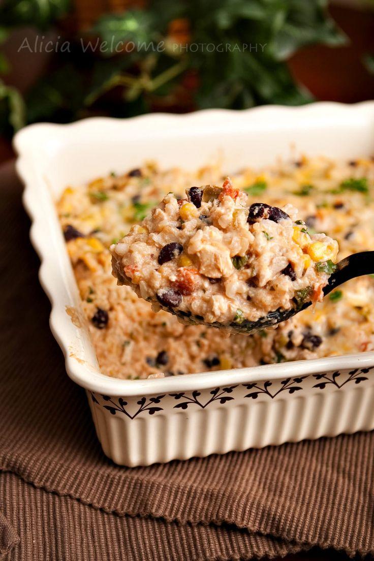 Chicken black bean casserole | food & drinks | Pinterest