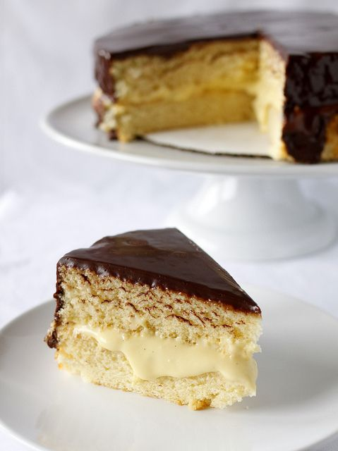 Boston Cream Pie | Need to try Foods | Pinterest