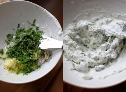 herbed goat cheese spread | recipes:snacks&treats | Pinterest