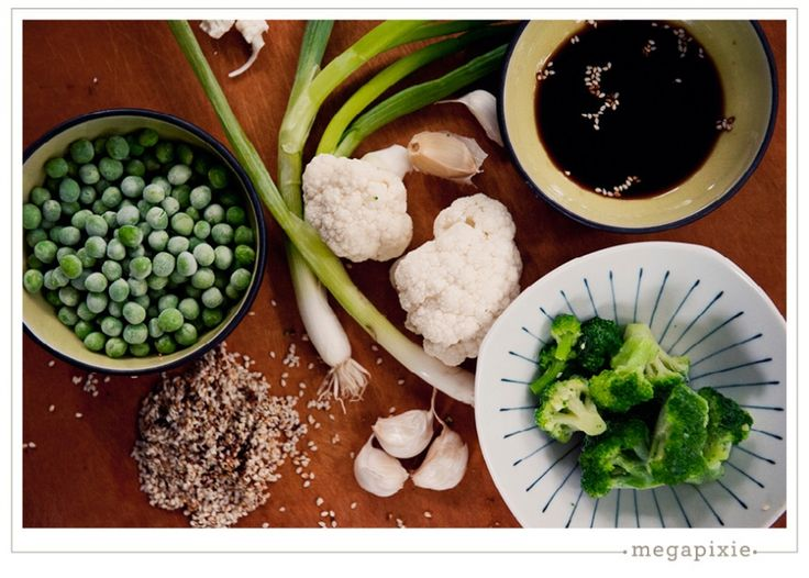 Vegetarian Kid-Friendly Meal Ideas - Cauliflower Fried Rice