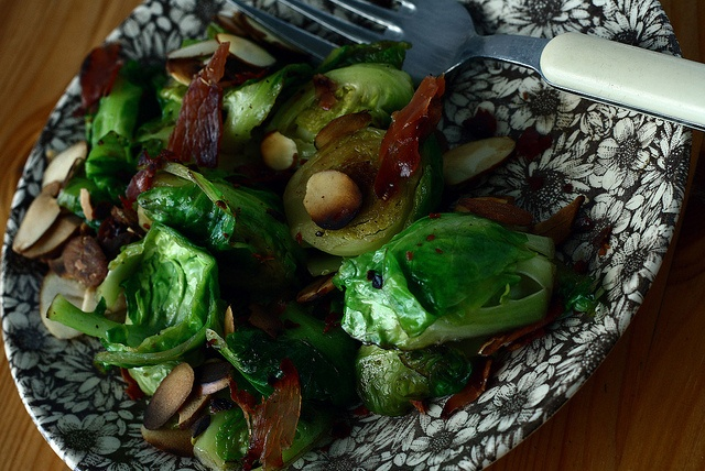 sauteed brussle sprouts pancetta and almonds