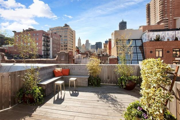 Pin by new york penthouses for sale and rent on nyc new for Tribeca apartment for sale